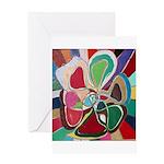 Soul or Flower Greeting Card