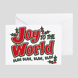 Joy World Blah Blah Greeting Cards (Pk of 20)