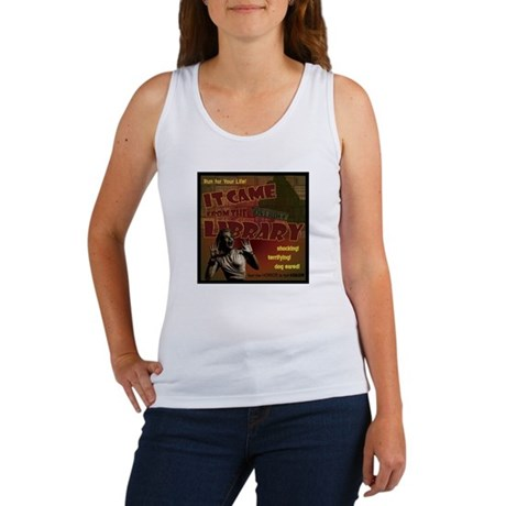Came from the Library Women's Tank Top