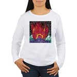 Fire on a Plane of Existence Women's Long Sleeve T