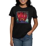 Fire on a Plane of Existence Women's Dark T-Shirt