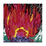 Fire on a Plane of Existence Tile Coaster