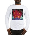 Fire on a Plane of Existence Long Sleeve T-Shirt