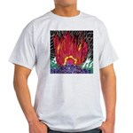 Fire on a Plane of Existence Light T-Shirt