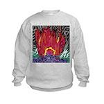 Fire on a Plane of Existence Kids Sweatshirt