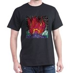 Fire on a Plane of Existence Dark T-Shirt