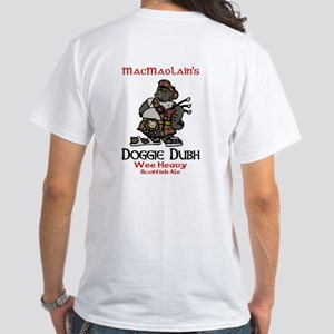 Doggie Dubh White T-Shirt