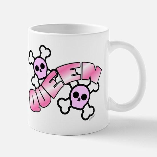 Punk Skulls Queen Mug