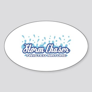 Twisted Nature Oval Sticker