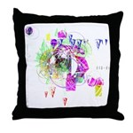 How we see space Throw Pillow