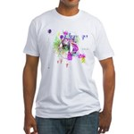 How we see space Fitted T-Shirt
