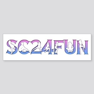 SC24FUN FAN LOGO Bumper Sticker