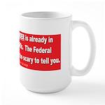 New World Order Large Mug