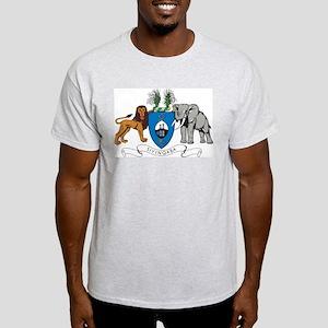 Swaziland Coat Of Arms Ash Grey T-Shirt
