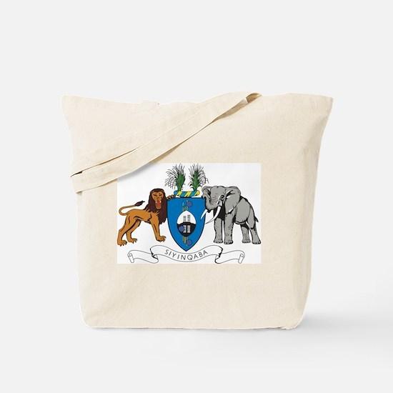 Swaziland Coat Of Arms Tote Bag