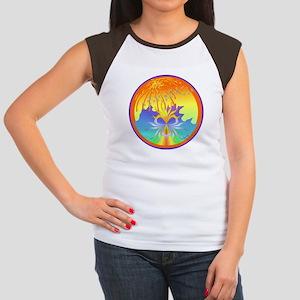 Healing Mandala Women's Cap Sleeve T-Shirt