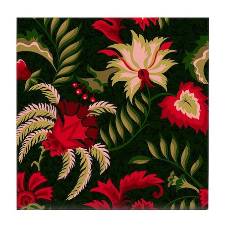 Holiday Splendor Tile Coaster