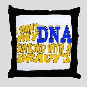 DNA Switch - Brady Throw Pillow