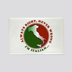 Always Right, Never Wrong Rectangle Magnet