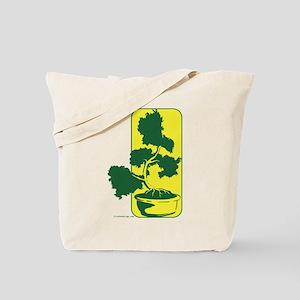 Juniper Bonsai (Green) Tote Bag