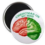 Christmas on My Mind Magnet