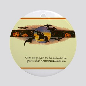Holloween Ornament (Round)