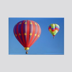 Two Balloons Rectangle Magnet