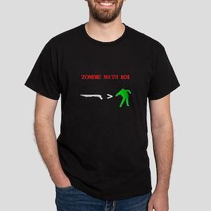 """""""Zombie Math 101"""" Dark T-Shirt"""