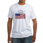 American FREE THINKER Fitted T-Shirt