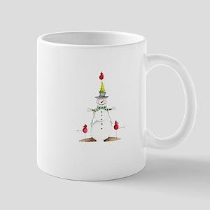 Snow Buddy Cardinals Mug