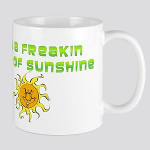 freakin ray of sunshine Mugs
