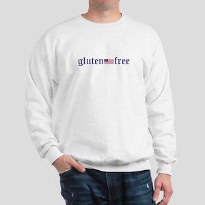 gluten-free (U.S. Flag) Sweatshirt