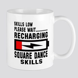 Please wait Recharging Square da 11 oz Ceramic Mug
