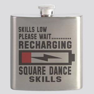 Please wait Recharging Square dance skills Flask
