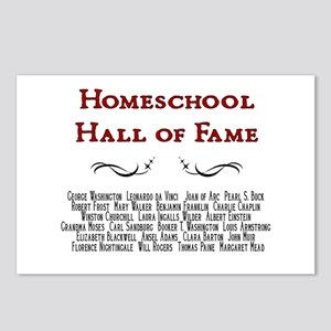 Homeschool Hall of Fame Postcards (Package of 8)