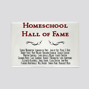 Homeschool Hall of Fame Rectangle Magnet