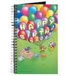 """Cuddle Bunch """"Happy Birthday!"""" Journal"""