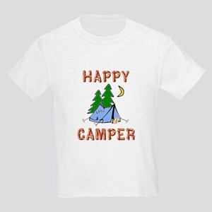 Happy Camper Kids Light T-Shirt