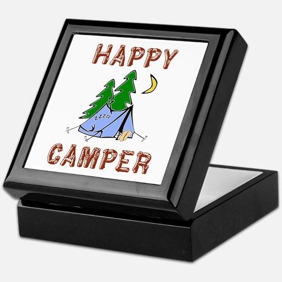 Happy Camper Keepsake Box