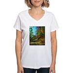 A new Path Women's V-Neck T-Shirt