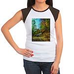 A new Path Women's Cap Sleeve T-Shirt