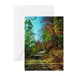 A new Path Greeting Cards (Pk of 20)