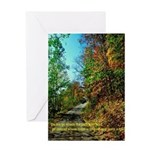 A new Path Greeting Card