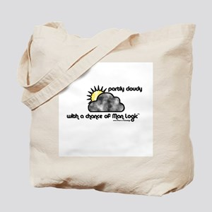 Man Logic Forecast Tote Bag