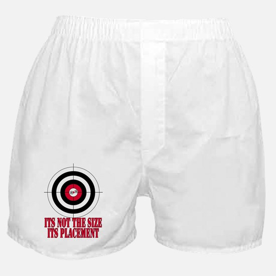 Target Practice Funny Boxer Shorts