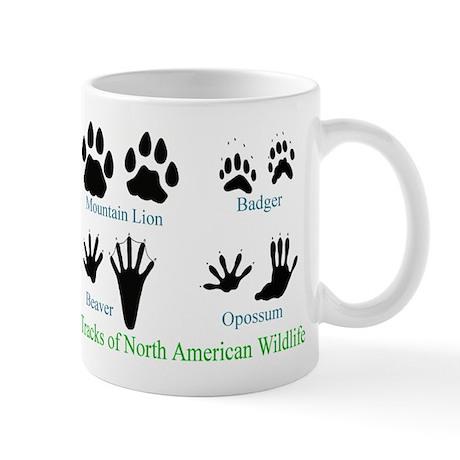 Animal Tracks Pawprints Mug