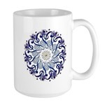 Hendeca Blue Large Mug