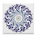 Hendeca Blue Tile Coaster