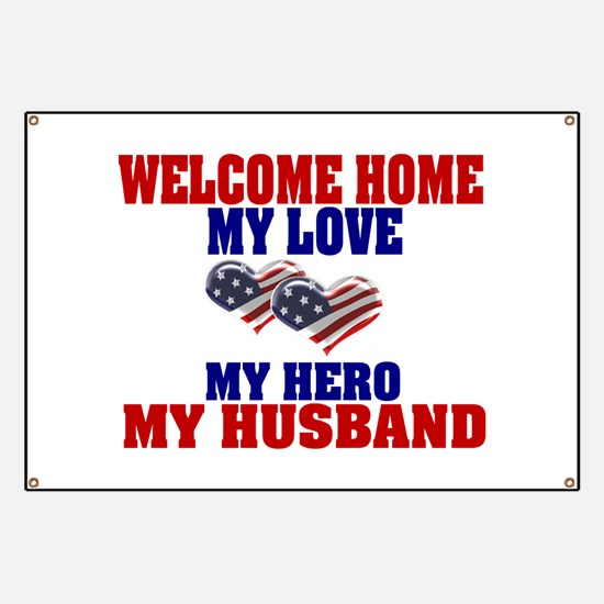 welcome home husband Banner