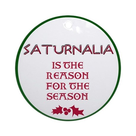 Saturnalia Ornament (Round)